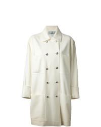 Manteau blanc Jean Louis Scherrer Vintage