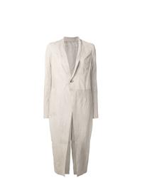 Manteau blanc Rick Owens
