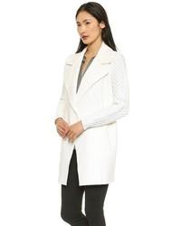 Manteau blanc Vince