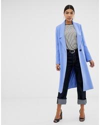 Manteau bleu clair ASOS DESIGN