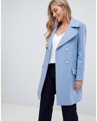 Manteau bleu clair Forever New