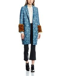 Manteau bleu clair Sister Jane
