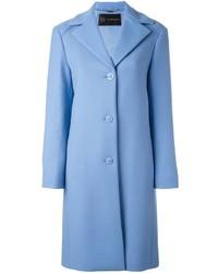 Manteau bleu clair Versace