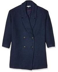 Manteau bleu marine Ange