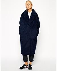 Manteau bleu marine Asos