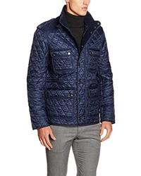 Manteau bleu marine Burberry