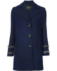 Manteau bleu marine Derek Lam