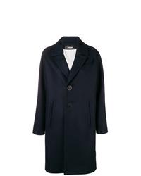 Manteau bleu marine Dsquared2