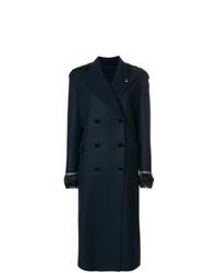 Manteau bleu marine Ermanno Scervino