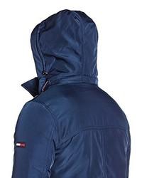 Manteau bleu marine Hilfiger Denim
