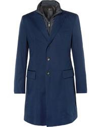 Manteau bleu marine Hugo Boss