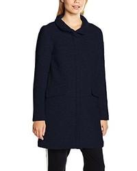 Manteau bleu marine Ichi