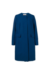 Manteau bleu marine Marni