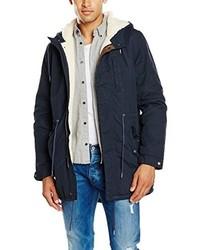 Manteau bleu marine Pepe Jeans