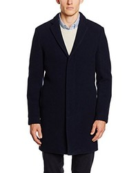 Manteau bleu marine Selected