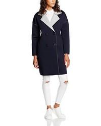 Manteau bleu marine TANTRA