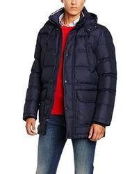 Manteau bleu marine Tommy Hilfiger