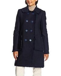 Manteau bleu marine Twin-Set