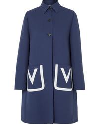 Manteau bleu marine Valentino
