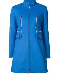 Manteau bleu Moschino