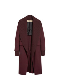 Manteau bordeaux Burberry
