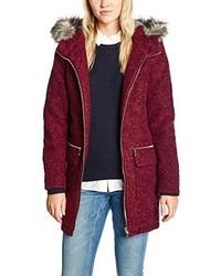 Manteau bordeaux Esprit