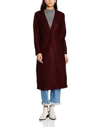 Manteau bordeaux New Look
