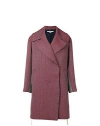 Manteau bordeaux Stella McCartney