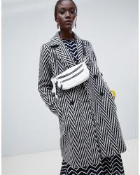Manteau bouclé gris Vero Moda
