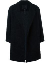 Manteau bouclé noir Jay Ahr