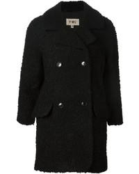 Manteau bouclé noir YMC