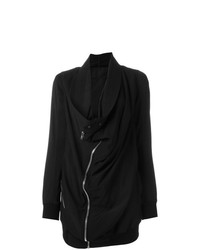 Manteau brodé noir Rick Owens