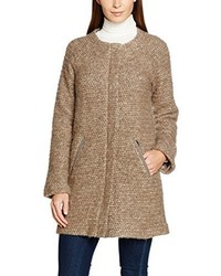 Manteau brun clair Amber & June