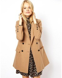 Manteau brun clair Asos