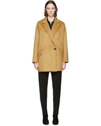 Manteau brun clair Isabel Marant
