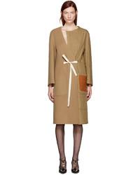 Manteau brun clair Loewe