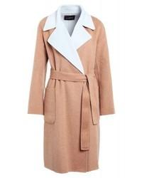 Manteau brun clair Max Mara