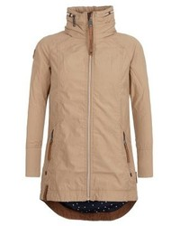 Manteau brun clair Naketano