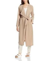Manteau brun clair Only