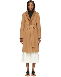 Manteau brun clair Stella McCartney