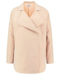 Manteau brun clair Teddy Smith