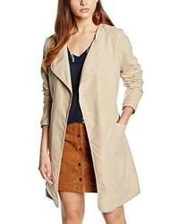 Manteau brun clair Vila
