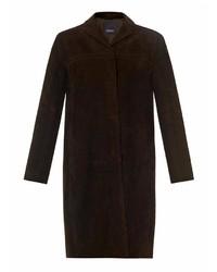 Manteau brun foncé