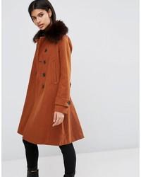 Manteau brun Asos