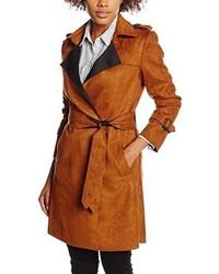 Manteau brun Derhy