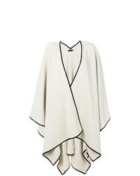 Manteau cape beige