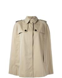 Manteau cape beige Burberry