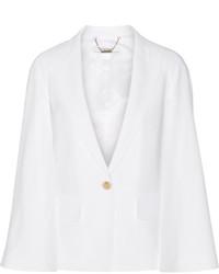 Manteau cape blanc Givenchy