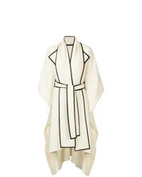 Manteau cape blanc Rosetta Getty
