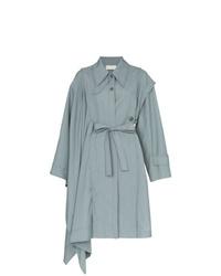 Manteau cape bleu clair Low Classic